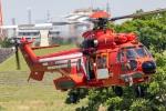 まんぼ しりうすさんが、荒川戸田橋球場で撮影した東京消防庁航空隊 EC225LP Super Puma Mk2+の航空フォト(写真)