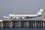 T.Kawaseさんが、羽田空港で撮影したアメリカ空軍 VC-25A (747-2G4B)の航空フォト(写真)