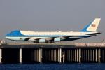 norimotoさんが、羽田空港で撮影したアメリカ空軍 VC-25A (747-2G4B)の航空フォト(写真)
