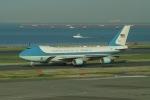 taka2217さんが、羽田空港で撮影したアメリカ空軍 VC-25A (747-2G4B)の航空フォト(写真)