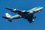 たーぼーさんが、羽田空港で撮影したアメリカ空軍 VC-25A (747-2G4B)の航空フォト(写真)