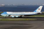 Talon.Kさんが、羽田空港で撮影したアメリカ空軍 VC-25A (747-2G4B)の航空フォト(写真)