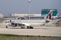 スポット110さんが、羽田空港で撮影したカタールアミリフライト A340-313Xの航空フォト(飛行機 写真・画像)