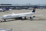 SFJ_capさんが、中部国際空港で撮影したルフトハンザドイツ航空 A340-642の航空フォト(写真)