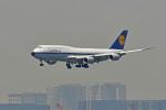 鈴鹿@風さんが、羽田空港で撮影したルフトハンザドイツ航空 747-830の航空フォト(写真)