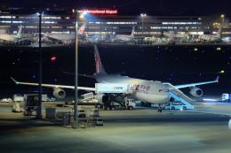 ryu330さんが、羽田空港で撮影したカタール航空 A340-313Xの航空フォト(飛行機 写真・画像)