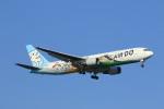 鴎の爪団さんが、羽田空港で撮影したAIR DO 767-381の航空フォト(写真)