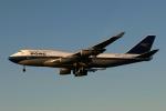 採れたてほしいもさんが、ロンドン・ヒースロー空港で撮影したブリティッシュ・エアウェイズ 747-436の航空フォト(写真)