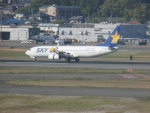 X-Airlinesさんが、福岡空港で撮影したスカイマーク 737-81Dの航空フォト(写真)
