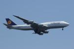 鴎の爪団さんが、羽田空港で撮影したルフトハンザドイツ航空 747-830の航空フォト(写真)