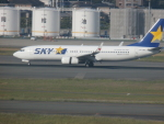 X-Airlinesさんが、福岡空港で撮影したスカイマーク 737-86Nの航空フォト(飛行機 写真・画像)