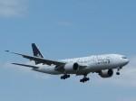 トタさんが、成田国際空港で撮影したユナイテッド航空 777-224/ERの航空フォト(飛行機 写真・画像)