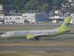 X-Airlinesさんが、福岡空港で撮影したジンエアー 737-86Nの航空フォト(飛行機 写真・画像)