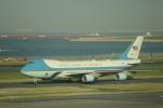 keitsamさんが、羽田空港で撮影したアメリカ空軍 VC-25A (747-2G4B)の航空フォト(写真)