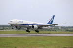 まっさんさんが、新石垣空港で撮影した全日空 777-281/ERの航空フォト(写真)
