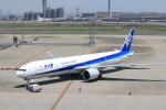 keitsamさんが、羽田空港で撮影した全日空 777-381/ERの航空フォト(写真)