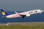 きんめいさんが、中部国際空港で撮影したスカイマーク 737-86Nの航空フォト(写真)