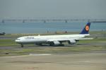 keitsamさんが、羽田空港で撮影したルフトハンザドイツ航空 A340-642Xの航空フォト(飛行機 写真・画像)
