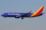 masa707さんが、ロサンゼルス国際空港で撮影したサウスウェスト航空 737-8H4の航空フォト(飛行機 写真・画像)