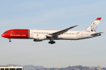 masa707さんが、ロサンゼルス国際空港で撮影したノルウェー・エアUK 787-9の航空フォト(写真)