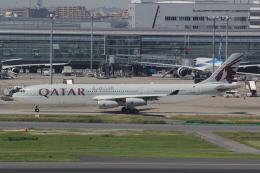 幹ポタさんが、羽田空港で撮影したカタールアミリフライト A340-313Xの航空フォト(飛行機 写真・画像)