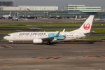 チャッピー・シミズさんが、羽田空港で撮影した日本航空 737-846の航空フォト(写真)