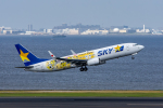 ぱん_くまさんが、羽田空港で撮影したスカイマーク 737-8FHの航空フォト(写真)