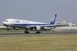 しゃこ隊さんが、伊丹空港で撮影した全日空 777-381の航空フォト(写真)