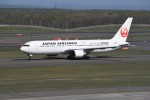 kumagorouさんが、新千歳空港で撮影した日本航空 767-346/ERの航空フォト(写真)