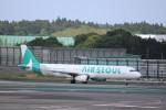 KAZFLYERさんが、成田国際空港で撮影したエアソウル A321-231の航空フォト(写真)