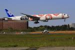 ☆ライダーさんが、成田国際空港で撮影した全日空 777-381/ERの航空フォト(写真)