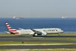 maverickさんが、羽田空港で撮影したアメリカン航空 787-9の航空フォト(写真)