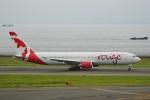 てつさんが、中部国際空港で撮影したエア・カナダ・ルージュ 767-35H/ERの航空フォト(写真)