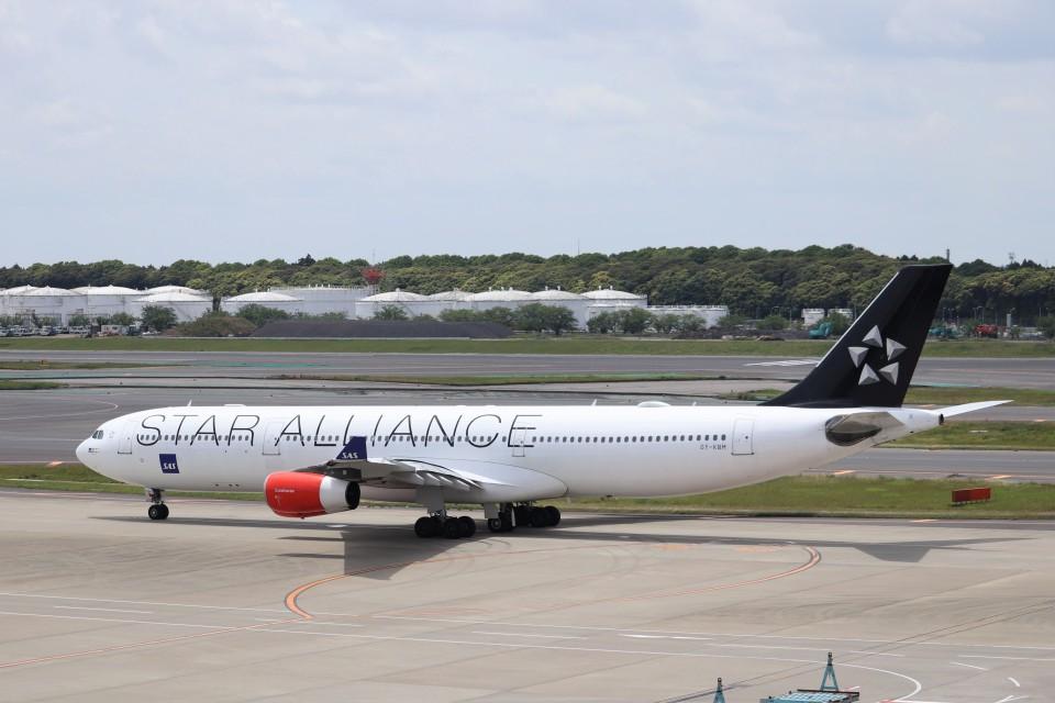KAZFLYERさんのスカンジナビア航空 Airbus A340-300 (OY-KBM) 航空フォト