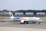 KAZFLYERさんが、成田国際空港で撮影したマレーシア航空 A350-941XWBの航空フォト(飛行機 写真・画像)