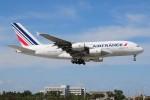 ぼんやりしまちゃんさんが、マイアミ国際空港で撮影したエールフランス航空 A380-861の航空フォト(写真)