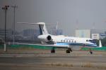 jjieさんが、羽田空港で撮影した海上保安庁 G-V Gulfstream Vの航空フォト(写真)