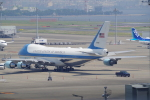 TG36Aさんが、羽田空港で撮影したアメリカ空軍 VC-25A (747-2G4B)の航空フォト(飛行機 写真・画像)