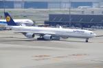 TG36Aさんが、羽田空港で撮影したルフトハンザドイツ航空 A340-642の航空フォト(写真)