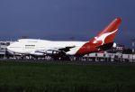 ITM58さんが、福岡空港で撮影したカンタス航空 747SP-38の航空フォト(写真)
