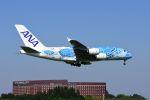 まいけるさんが、成田国際空港で撮影した全日空 A380-841の航空フォト(写真)