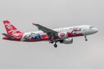 Y-Kenzoさんが、シンガポール・チャンギ国際空港で撮影したエアアジア A320-216の航空フォト(写真)