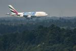 planetさんが、成田国際空港で撮影したエミレーツ航空 A380-861の航空フォト(写真)