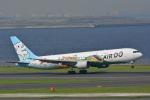 sukiさんが、羽田空港で撮影したAIR DO 767-381の航空フォト(写真)