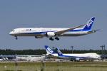 パンダさんが、成田国際空港で撮影した全日空 787-10の航空フォト(写真)