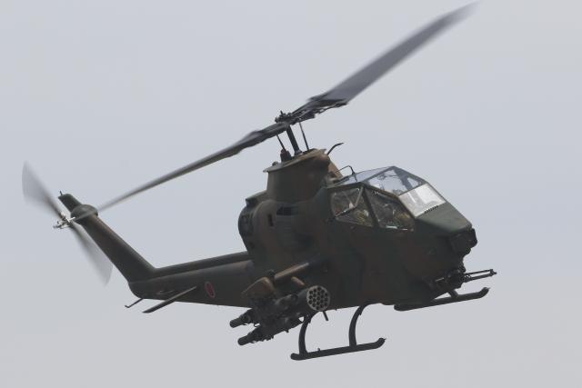 黄色の168さんが、東千歳駐屯地で撮影した陸上自衛隊 AH-1Sの航空フォト(飛行機 写真・画像)