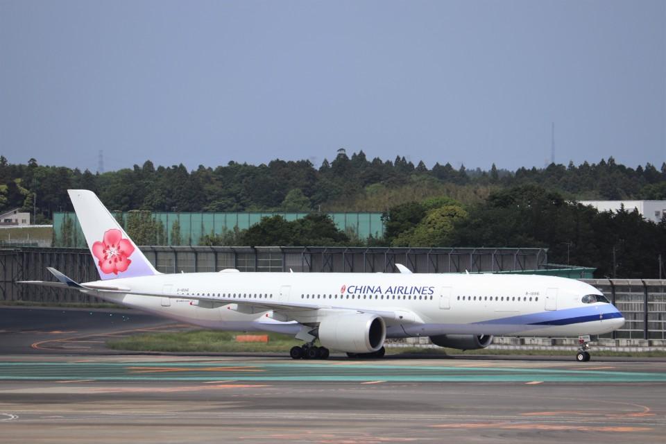KAZFLYERさんのチャイナエアライン Airbus A350-900 (B-18916) 航空フォト
