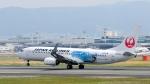 ザビエルさんが、伊丹空港で撮影した日本航空 737-846の航空フォト(写真)