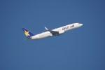 senbaさんが、羽田空港で撮影したスカイマーク 737-8FZの航空フォト(写真)