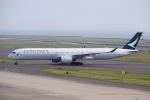 yabyanさんが、中部国際空港で撮影したキャセイパシフィック航空 A350-1041の航空フォト(写真)